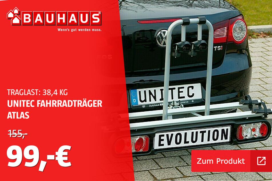 Fahrrad Kupplungsträger für 99 statt 155 Euro