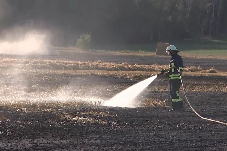 Die Feuerwehr war etwa zwei Stunden lang im Einsatz.