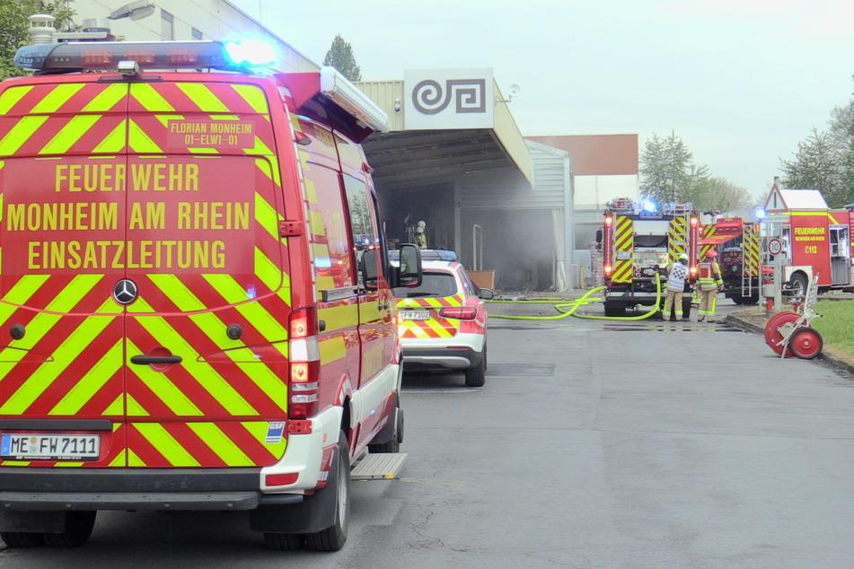 40 Einsatzkräfte der Feuerwehr mussten den Brand am Dienstagabend unter Kontrolle bringen.
