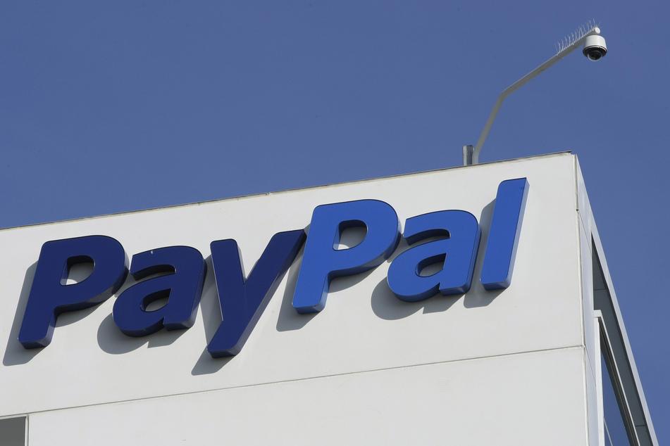 Außenansicht der PayPal-Sitzes in Kalifornien.