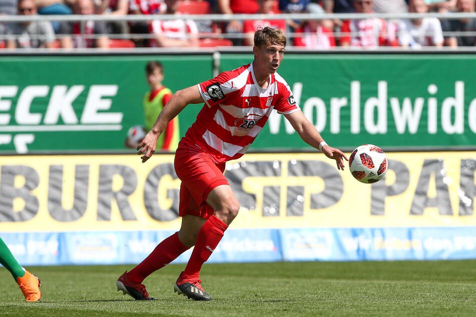 Lion Lauberbach (23) ist 2018/19 auch für den FSV Zwickau aufgelaufen.