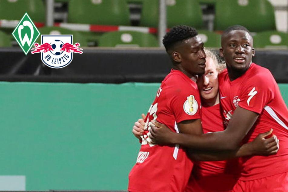 120-Minuten-Krimi im DFB-Pokal! RB Leipzig eliminiert Bremen und steht im Finale