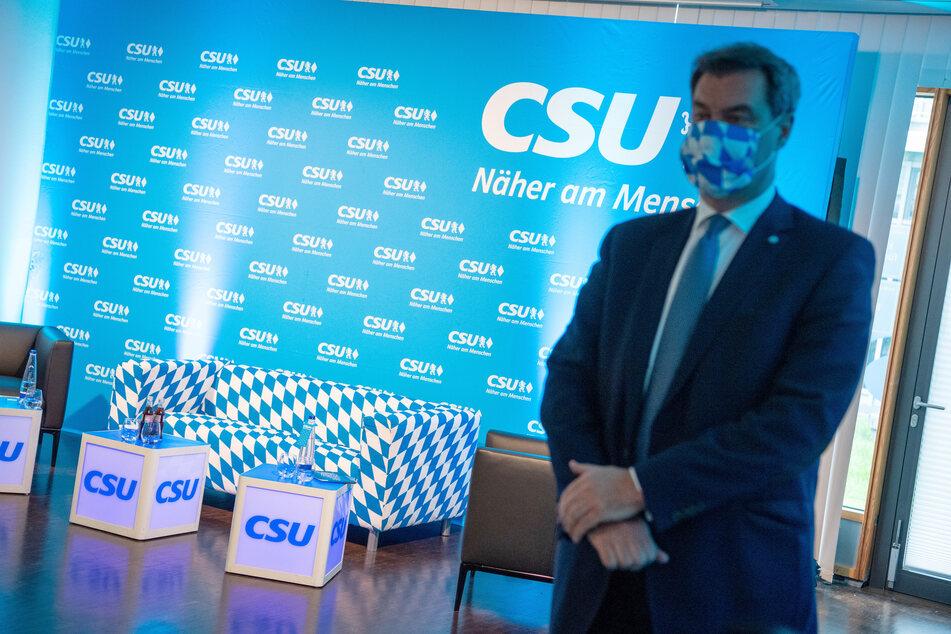 Bayerns Ministerpräsident Markus Söder hält die Verlängerung der Kontaktbeschränkungen wegen der Corona-Pandemie bis Juli für richtig.