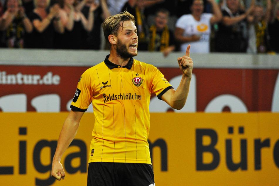 Justin Eilers war in der Saison 2015/16 an 30 Dynamo-Toren direkt beteiligt und avancierte zu einem der Aufstiegshelden der Dresdner.