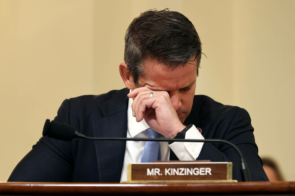Rep. Adam Kinzinger, a Republican from Illinois, is part of the select committee.
