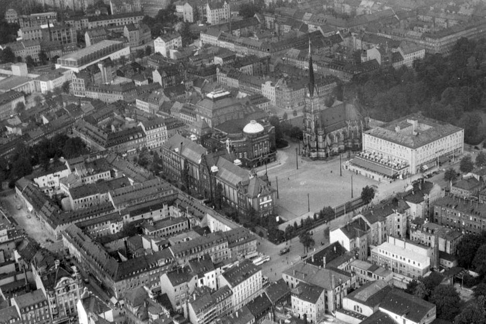 Von den 1940ern bis heute: Seltene Aufnahmen von Chemnitz bei den Filmnächten