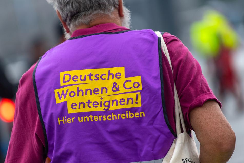 """Das Berliner Bündnis """"Deutsche Wohnen & Co. enteignen"""" will juristisch gegen den Senat vorgehen."""