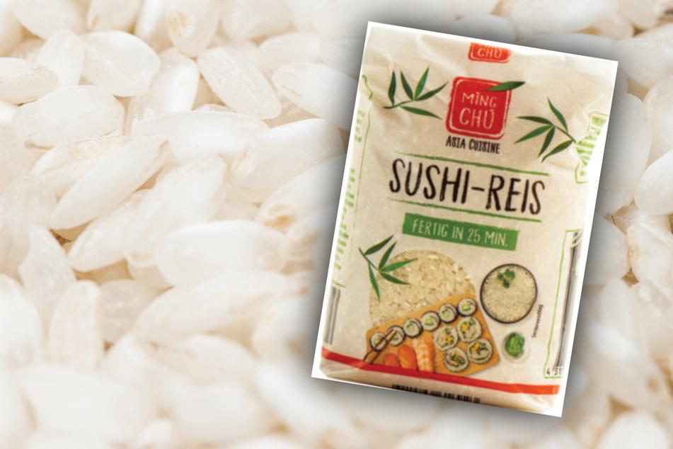 Warenrückruf wegen Gefahr von Glasstücken im Sushi-Reis