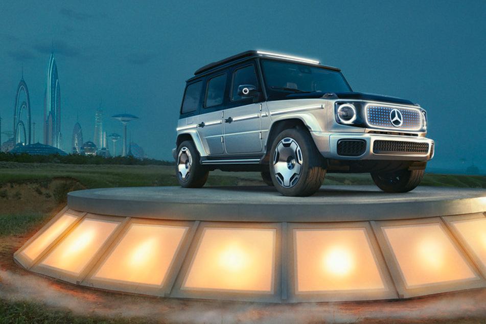 Der Concept EQG gibt eine Vorschau auf die elektrische Mercedes G-Klasse.