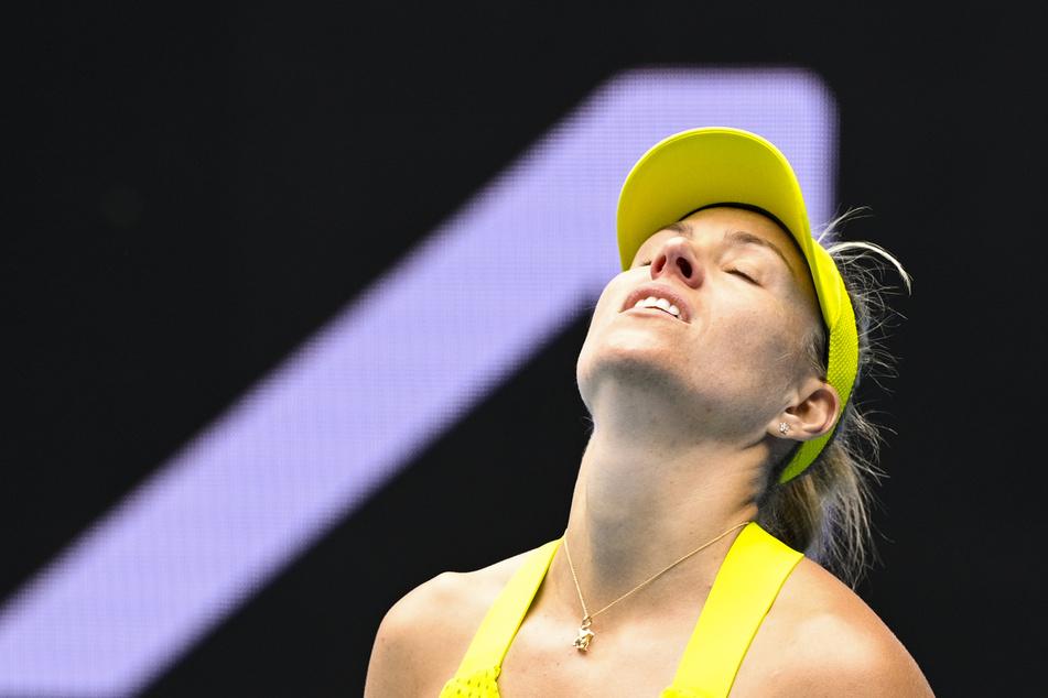 Angelique Kerber (33) flog schon in der ersten Runde raus.