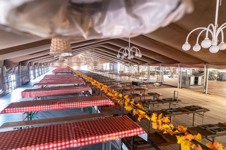 Das Wooosn-Zelt wird 2021 leider leer bleiben. (Archivfoto)