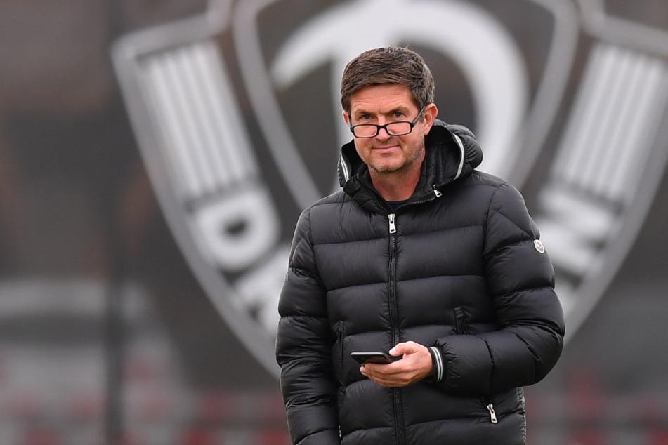"""Sportgeschäftsführer Ralf Becker ist mit der Entwicklung des Teams zufrieden: """"Wir haben gute Wochen hinter uns."""""""