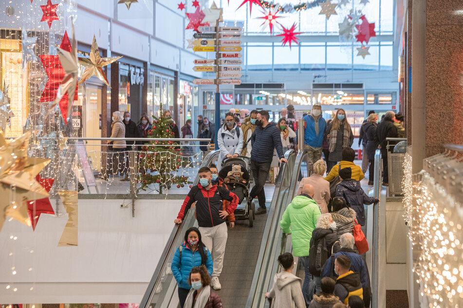 So gut besucht könnte auch ein Sonntag im KaufPark in Dresden-Nickern aussehen.