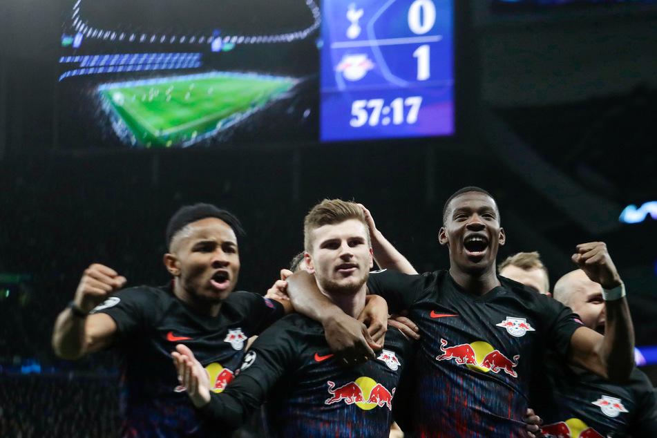In Tottenham erzielte Werner das viel umjubelte 1:0 für die Roten Bullen.