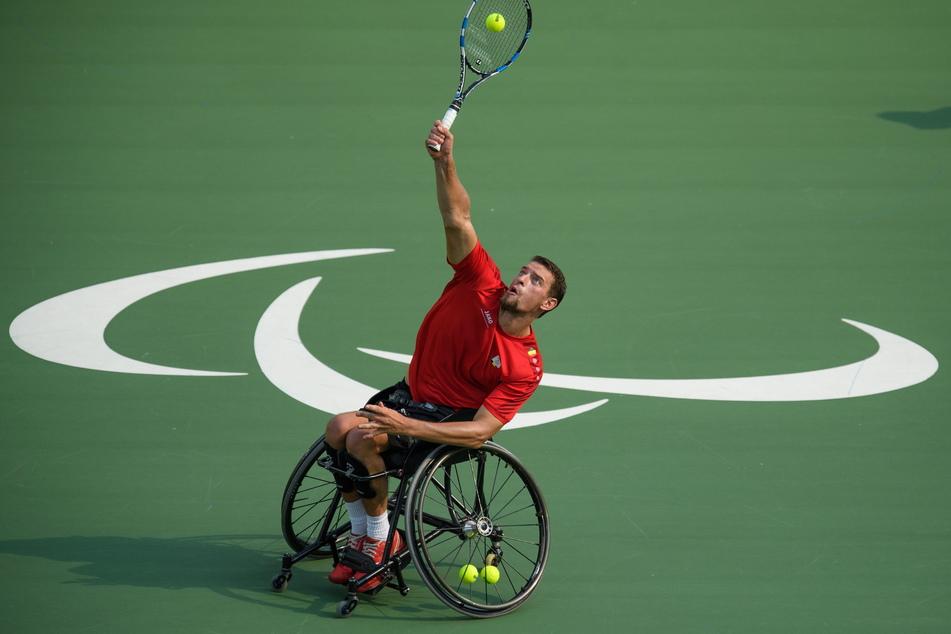 Joachim Gerard, hier bei den Paralympischen Spielen 2016 in Rio, brach jetzt zusammen und musste ins Krankenhaus gebracht werden.