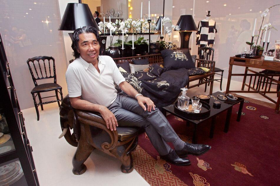 Der französisch-japanische Designer Kenzo Takada kam aus Japan und blieb für immer in Paris.