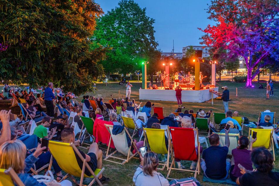 Der Chemnitzer Parksommer ist eines der Events, das die Kulturhauptstadt-Jury von Chemnitz überzeugen soll.