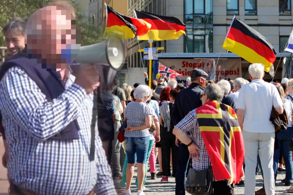 Pegida-Anhänger stürmen in Dresdner Kreuzkirche und greifen Frauen an