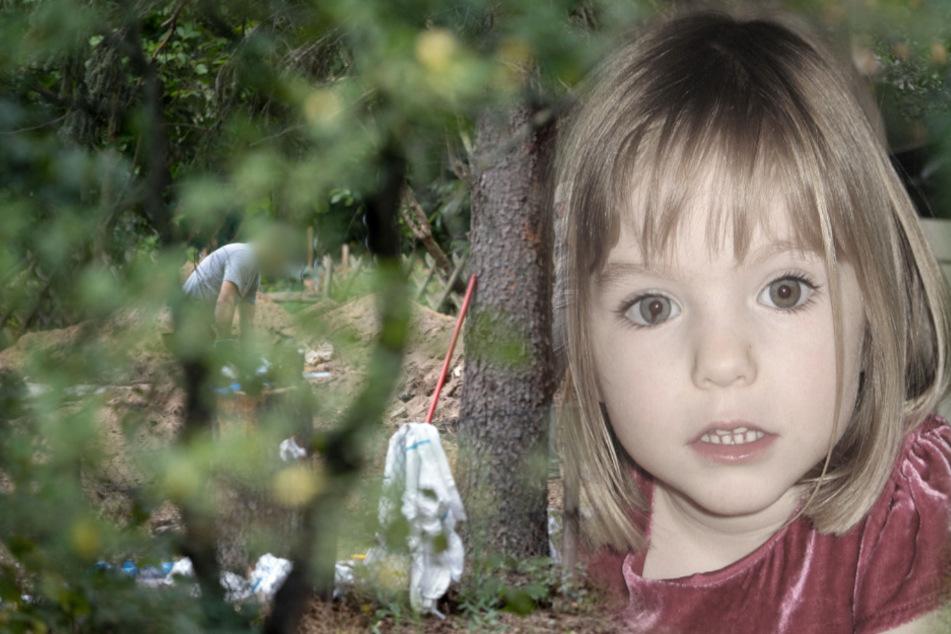 Fall Maddie McCann: Polizei setzt Suche in Kleingarten fort