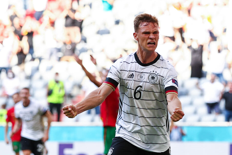 Pure Leidenschaft! Joshua Kimmich (26) ging wie gefordert voran und hatte mit zwei Torvorlagen entscheidenden Anteil am deutschen Sieg.