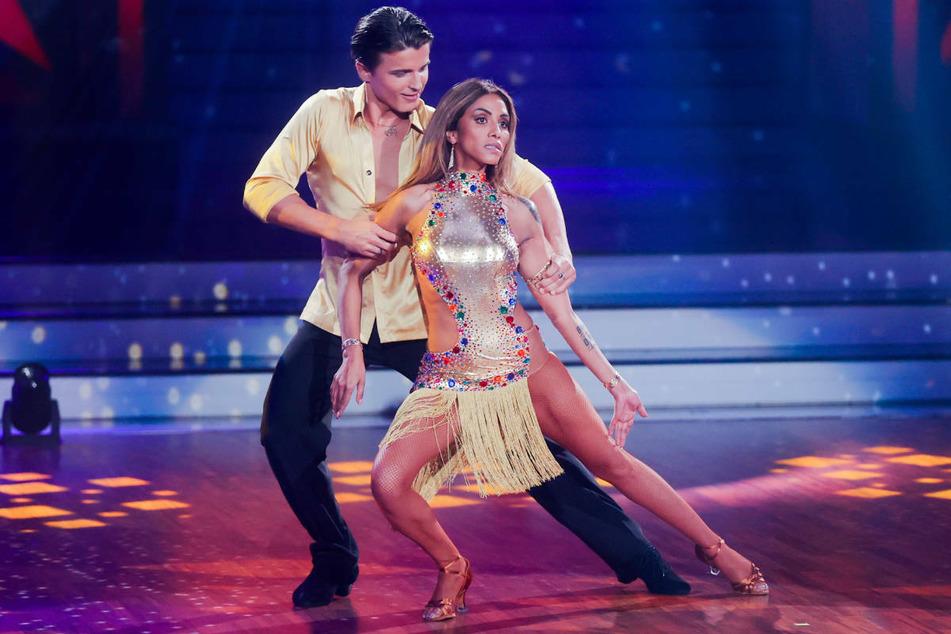 """Im vergangenen Jahr nahm Sabrina Setlur, hier mit Tanzpartner Nikita Kuzmin, an der RTL-Show """"Let's Dance"""" teil, schied aber bereits in der zweiten Runde aus"""