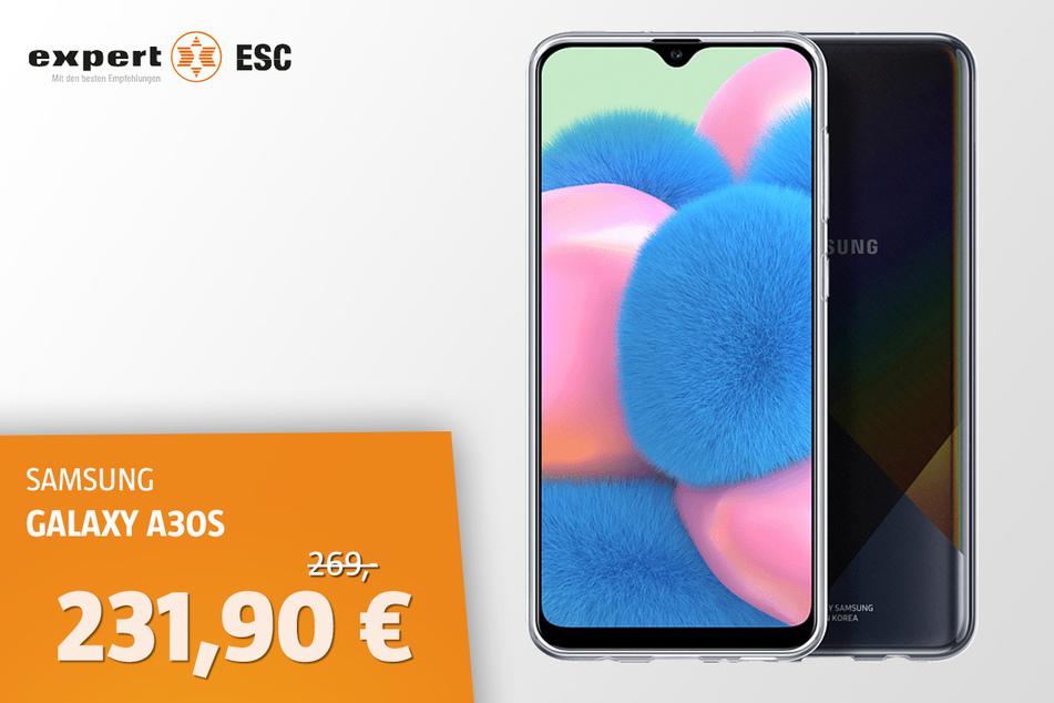 Samsung Galaxy A30s für 231,90 statt 269 Euro