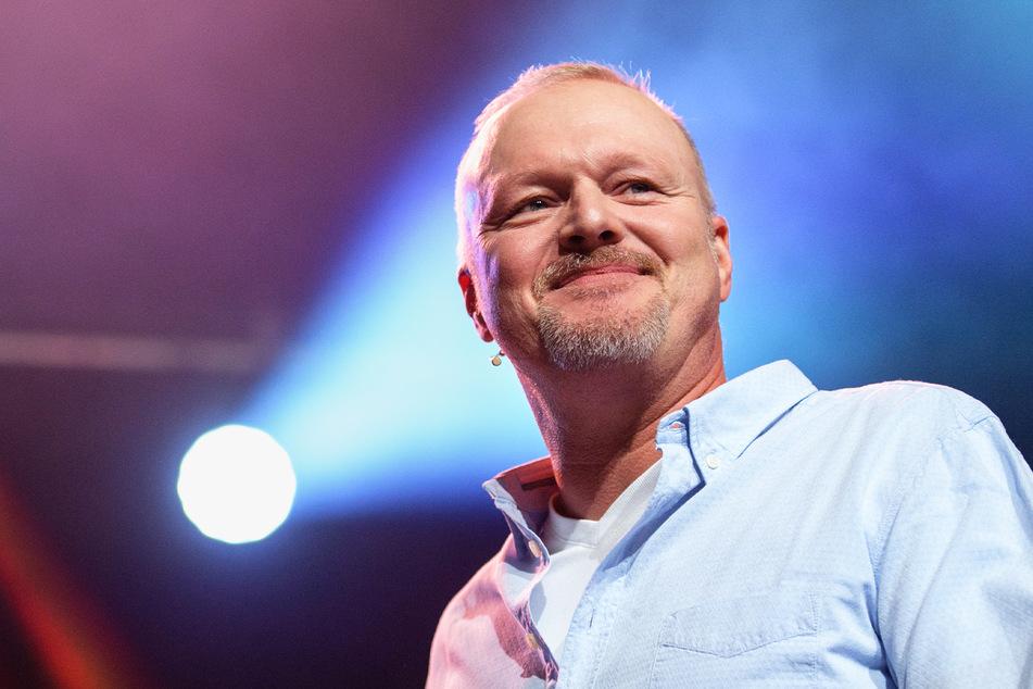 "Entertainer Stefan Raab (54) bleibt bei seinem ""Free ESC"" hinter den Kulissen."