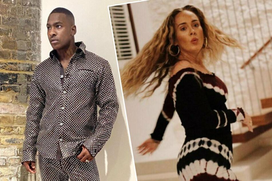 Der britische Musiker Skepta (38, l.) und Adele (33) sollen sich bereits seit Monaten daten.