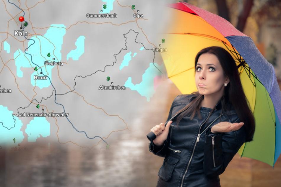 Das sieht regnerisch aus: Die Wetter-Prognose für NRW