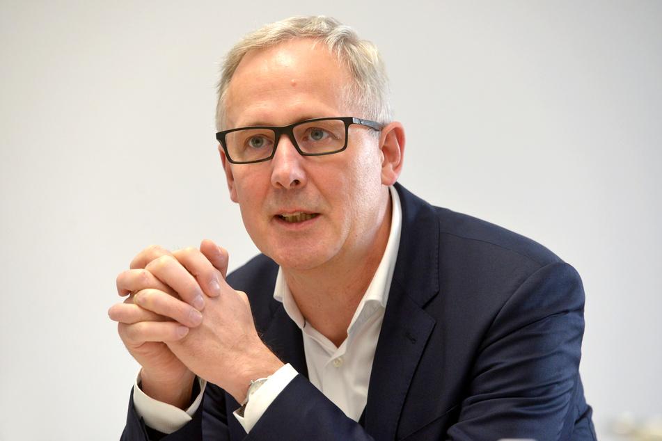 Joachim Klement (59), Intendant des Staatsschauspiels.