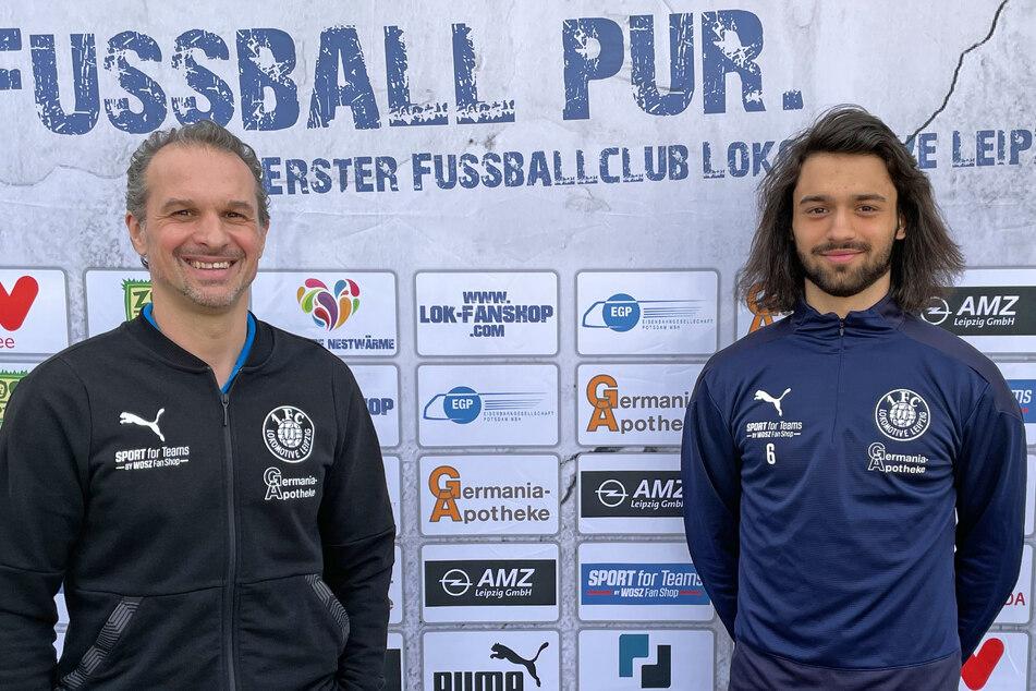 Cheftrainer Almedin Civa (48) und Zak Paulo Piplica (19) werden auch weiterhin zusammenarbeiten.