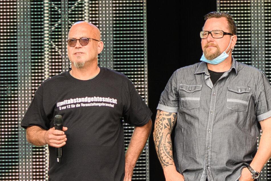 Ande Werner (l.) und Lars Niedereichholz sind seit Ende der 1990er Jahre als Comedy-Duo Mundstuhl unterwegs.