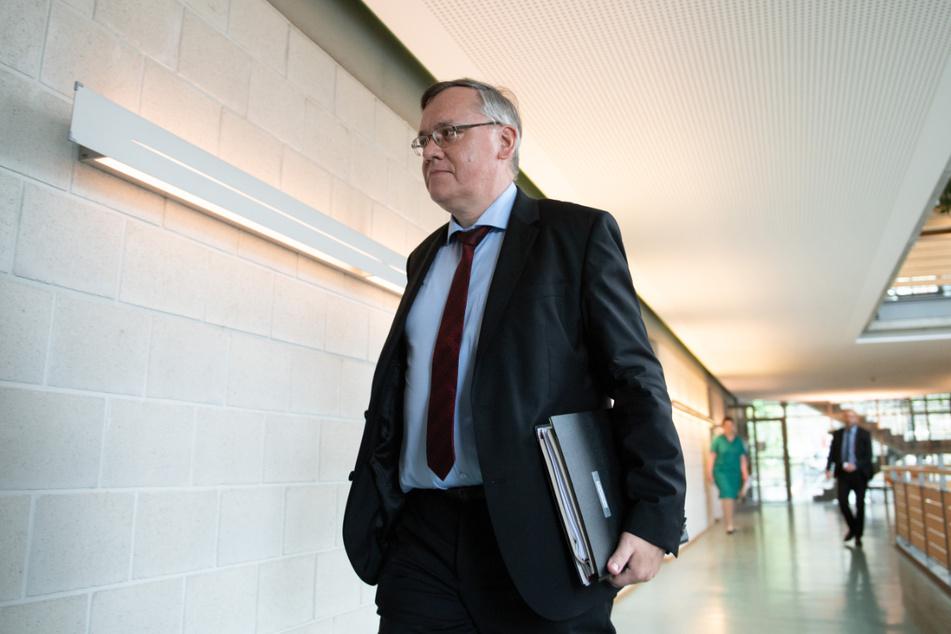 Der Präsident des Verfassungsschutzes, Dirk-Martin Christian (59), ist seit vergangenem Jahr im Amt. (Archivbild)
