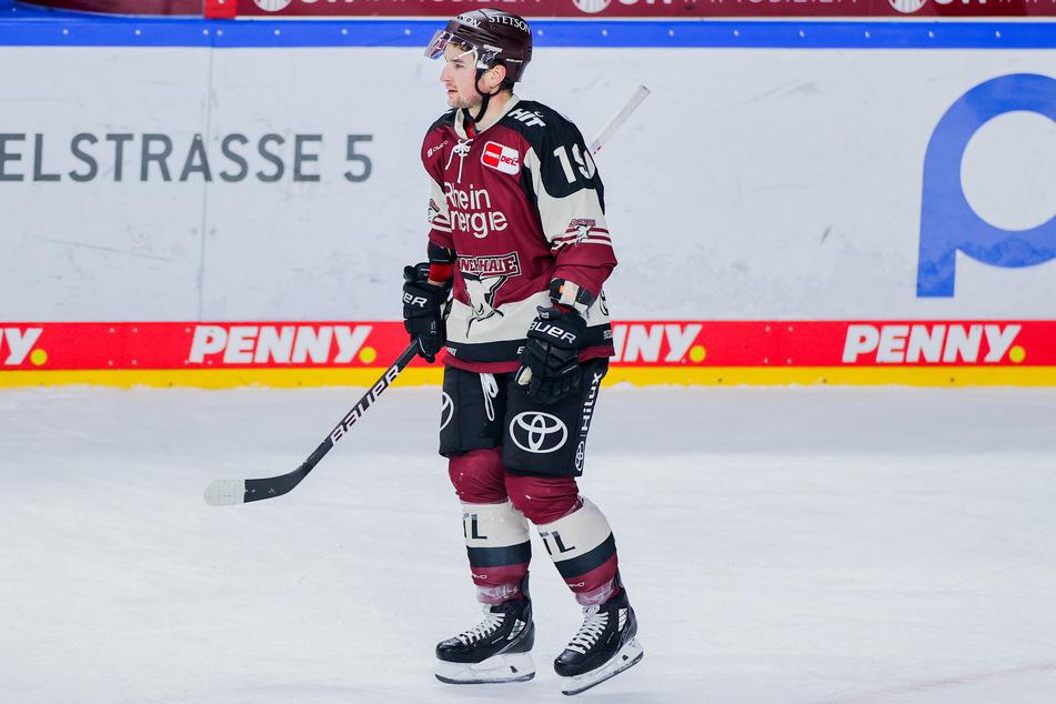 Jason Akeson (30) konnte nicht an seine Top-Leistung aus der Partie gegen die Nürnberg Ice Tigers anknüpfen. Da hatte der Kanadier noch einen Hattrick erzielt. In München ging er leer aus. (Archivfoto)
