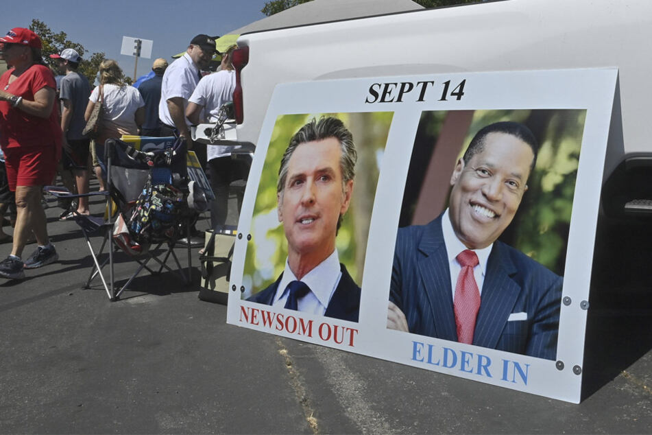 Larry Elder's visit to homeless encampment becomes a hostile and physical confrontation