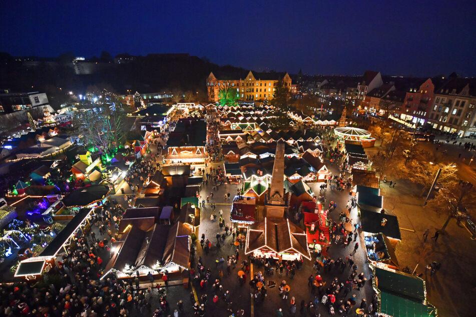 2G-Regel: Ungeimpfte vom Erfurter Weihnachtsmarkt ausgeschlossen