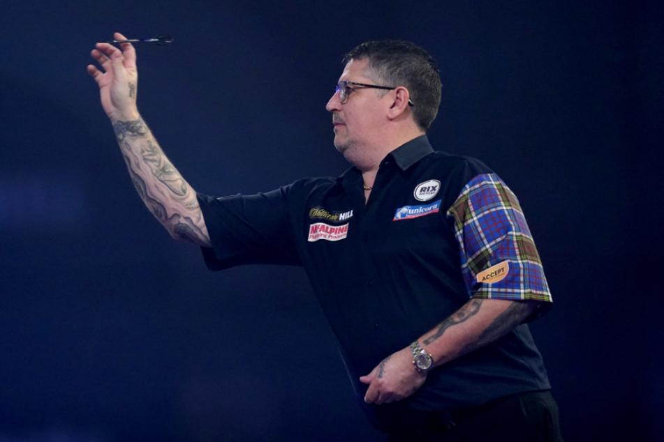 Der Schotte Gary Anderson (40) hatte im Finale gegen Price das Nachsehen.