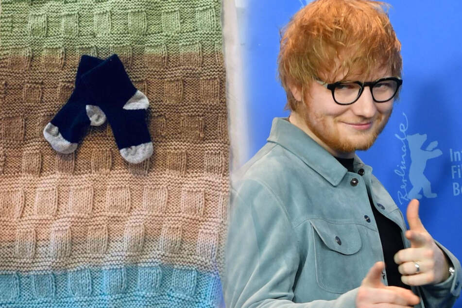 Ed Sheeran is a proud dad and you'll never guess his baby daughter's name