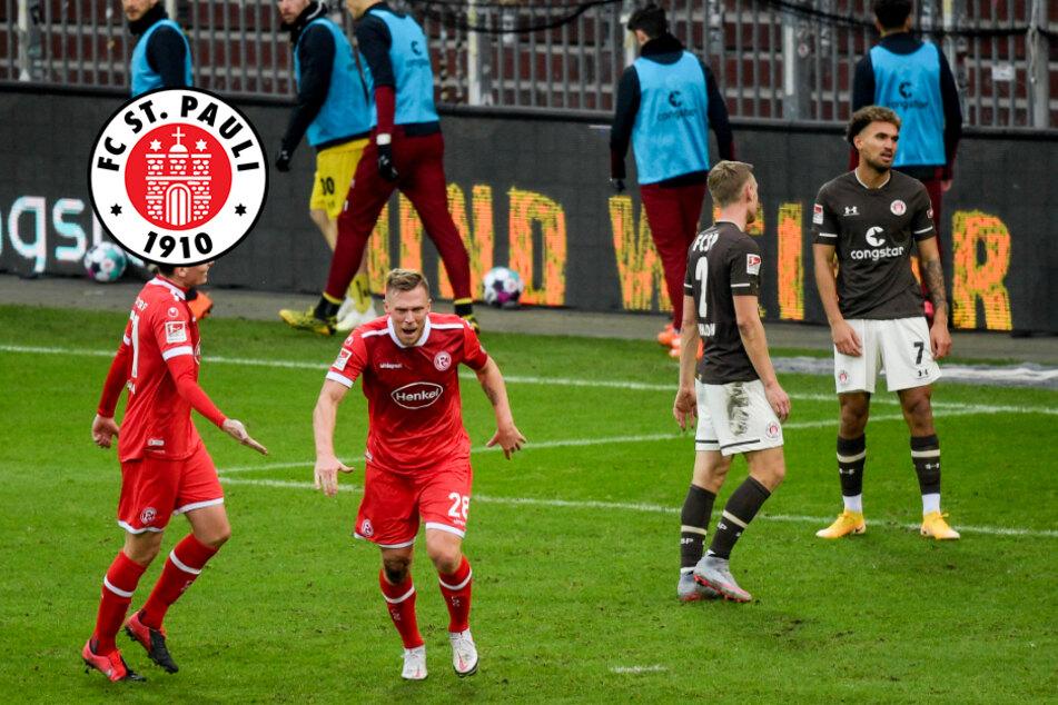 Einfach zu wenig! Glückloser FC St. Pauli verliert deutlich gegen Düsseldorf