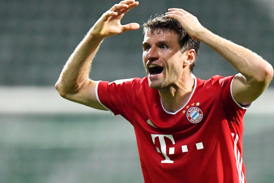 Thomas Müller (30) und der FC Bayern sind Meister.