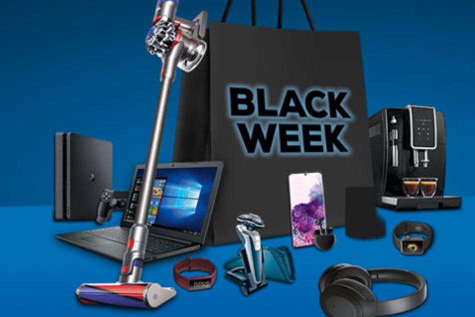 Euronics ruft zur Black Week und gibt bis Montag (30.11.) mega Rabatt