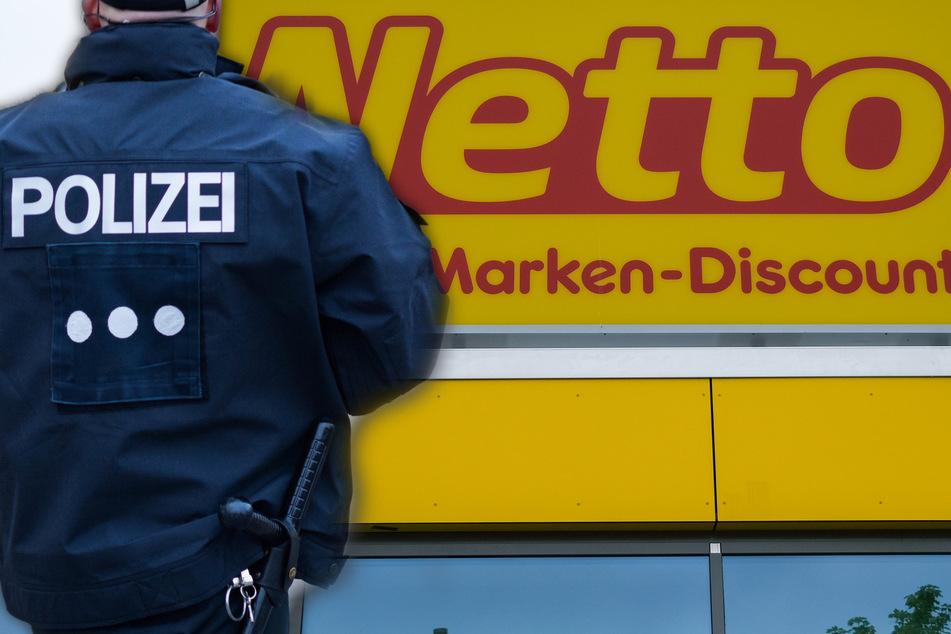 Netto-Kunde macht sich vor Kassiererin nackig: Ein Detail verblüfft die Polizei jedoch