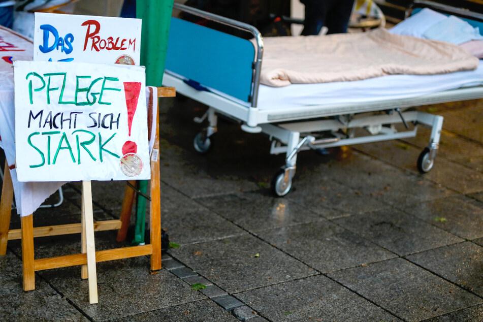 Berlin: Mit diesen Aktionen kämpft die Pflege für bessere Arbeitsbedingungen