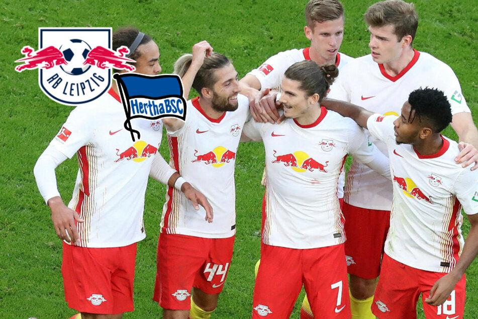 RB Leipzig ringt starke Hertha nieder und feiert dank Sabitzer nächsten Sieg!