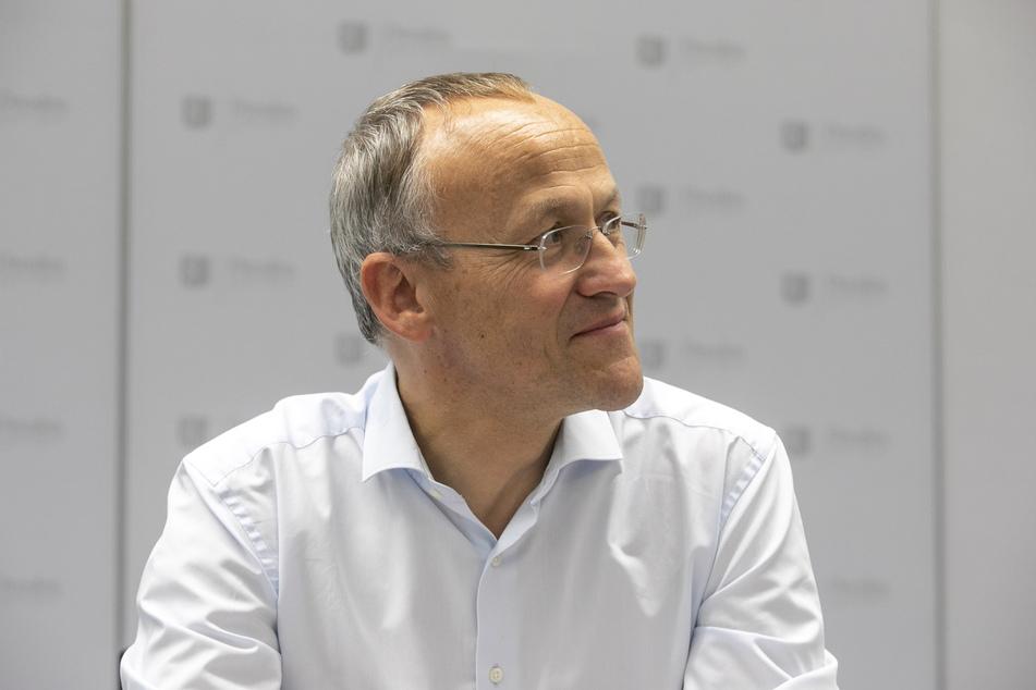 Finanzbürgermeister Peter Lames (56, SPD) kritisiert die Wünsche der Ratsfraktionen deutlich.