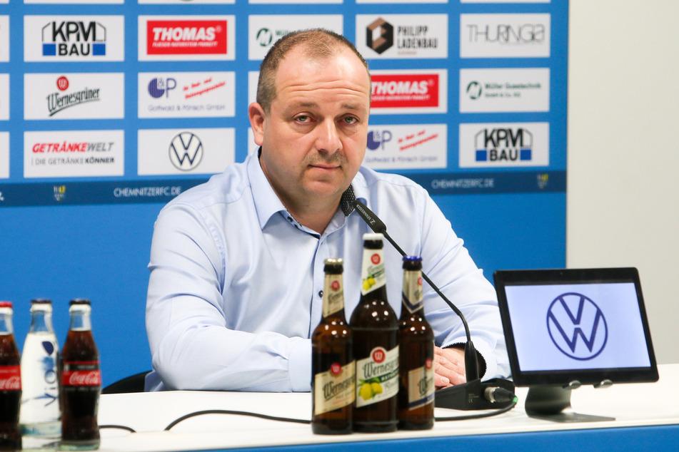 Laut CFC-Aufsichtsratsvorsitzender Knut Müller könnte der Abstand zum Tabellenführer zu groß sein (Archivbild).