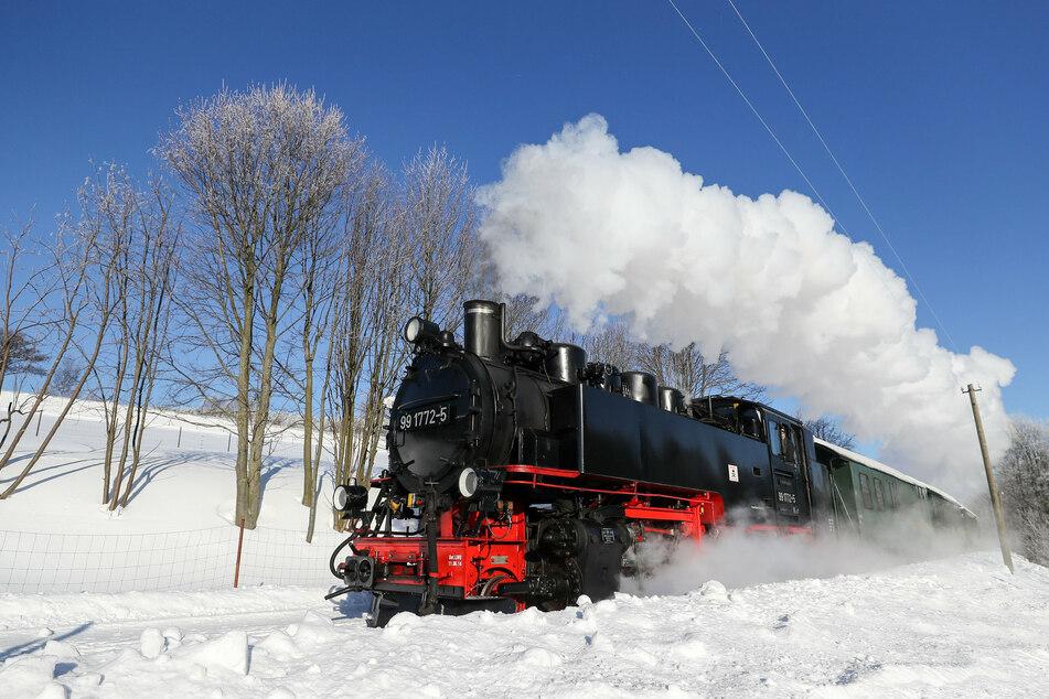 Wegen Corona: Sachsens Schmalspurbahnen bleiben die Fahrgäste weg