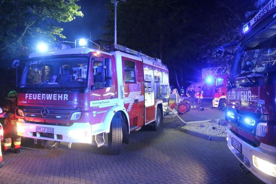 In einem Pflegeheim in Treuenbrietzen ist ein Feuer ausgebrochen.