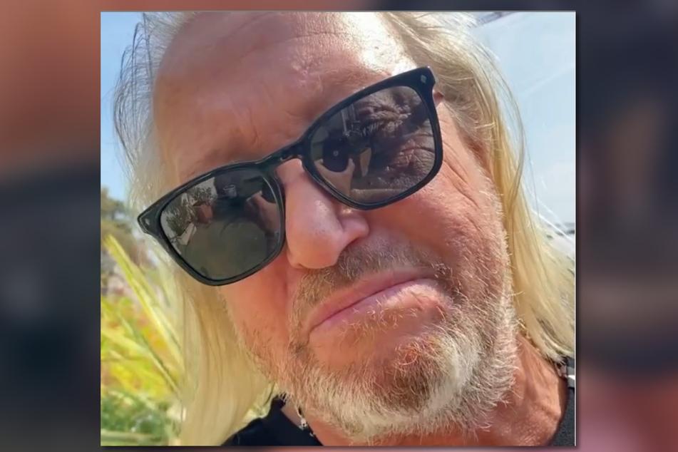 Auch Robert Geiss (57) ist traurig über die zersägten Palmen und erzählt seinen Fans von der Aktion.