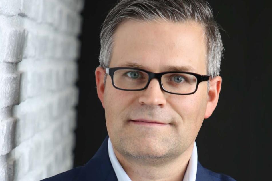 Miteigentümer und Geschäftsführer der Werft Laubegast Sven Spielvogel (46)